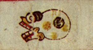Miquiztli, códice Borgia